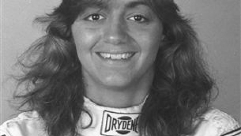 UNKNOWN:  Shawna Robinson ran in eight NASCAR Cup races and 61 Nationwide Series races during her career. She won the pole position for the 1994 Busch Light 300 Nationwide Series race at Atlanta Motor Speedway in Hampton, GA. (Photo by ISC Images & Archives via Getty Images)
