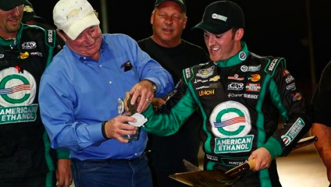ROSSBURG, OH - JULY 24:  during the NASCAR Camping World Truck Series inaugural CarCash Mudsummer Classic at Eldora Speedway on July 24, 2013 in Rossburg, Ohio.  (Photo by Chris Graythen/NASCAR via Getty Images)