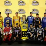 Martin Truex Jr. (top row, second from left) was originally in the Chase after Richmond
