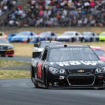Kurt Busch at Sonoma