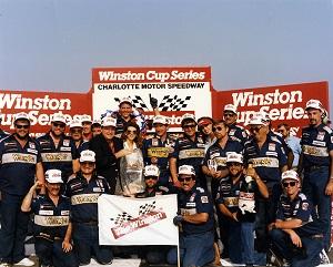 Dale Earnhardt - NASCAR Charlotte The Winston VL 1987
