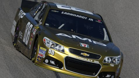 Earnhardt Jr. Can Play Spoiler Again At Texas; Larson Looms