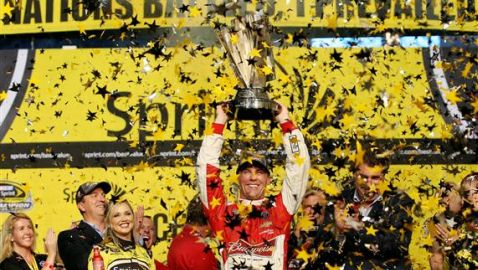 Kevin Harvick Wins 2014 NASCAR Sprint Cup Series Championship