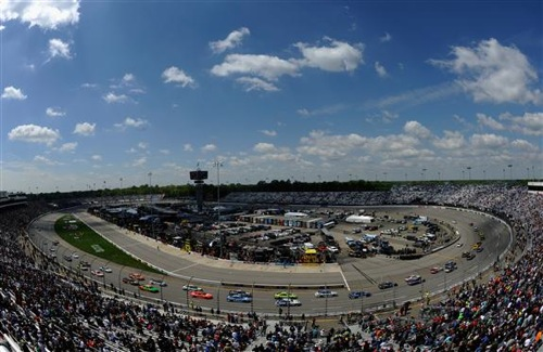 Toyota Owners 400 NASCAR Sprint Cup Series race at Richmond International Raceway on April 26, 2015.