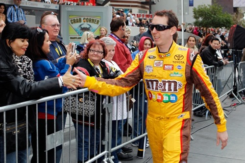 Kyle Busch (photo courtesy of Getty Images for NASCAR)