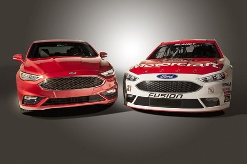 Illustration provided by Ford Racing