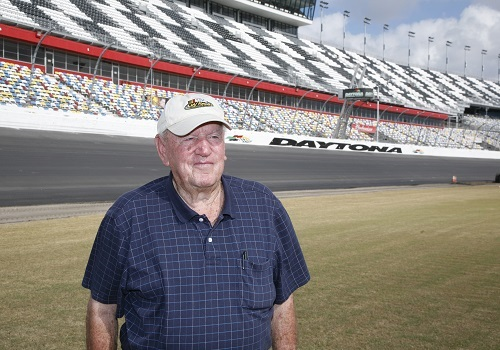 Marvin Panch at Daytona International Speedway in 2010 (photo courtesy of Getty Images for NASCAR)