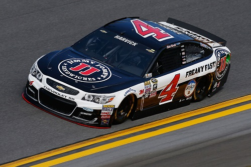 No. 4 Stewart-Haas Racing Chevrolet of Kevin Harvick (photo courtesy of Getty Images for NASCAR)