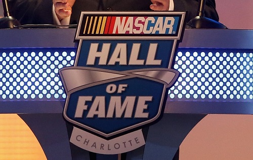 during the NASCAR Hall of Fame Induction Ceremony on January 23, 2016 in Charlotte, North Carolina.