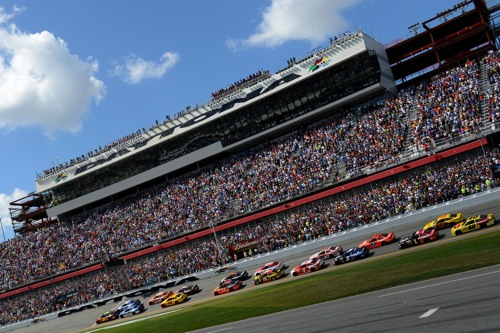 2015 Daytona 500 at Daytona (Fla.) International Speedway on Feb. 22, 2015 (photo courtesy of Getty Images for NASCAR)