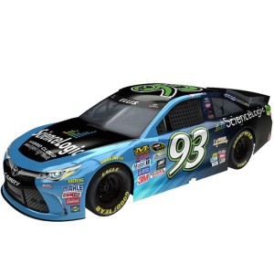 Graphic of No. 93 Toyota provided by BK Racing.
