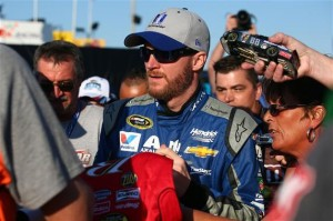 Dale Earnhardt Jr. (courtesy of Getty Images for NASCAR)