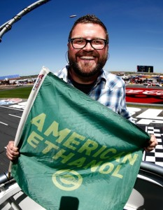 Rutledge Wood (photo courtesy of Getty Images for NASCAR)