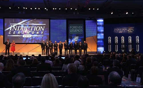 2016 NASCAR HALL OF fame induction ceremony (photo courtesy of Getty Images for NASCAR)