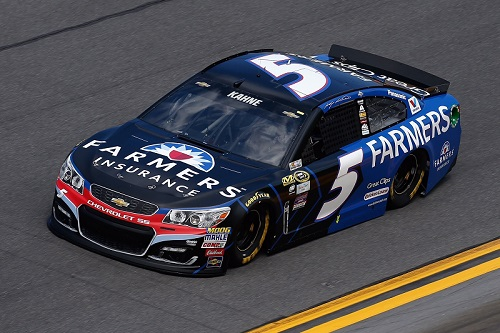 No. 5 Hendrick Motorsports Chevrolet of Kasey Kahne (photo courtesy of Getty Images for NASCAR)
