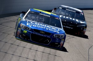 No. 48 Hendrick Motorsports Chevrolet of Jimmie Johnson (photo courtesy of Getty Images for NASCAR)