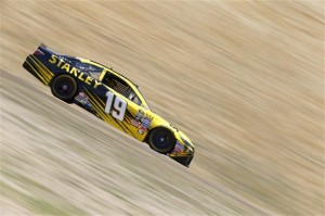 Carl Edwards on track at Sonoma Raceway (photo courtesy of Getty Images for NASCAR)