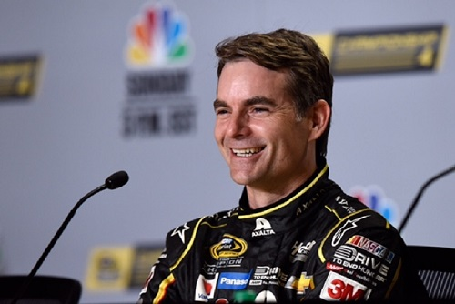 Jeff Gordon (photo courtesy of Getty Images for NASCAR)