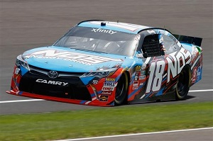No. 18 Joe Gibbs Racing Toyota of Kyle Busch (photo courtesy of Getty Images for NASCAR)