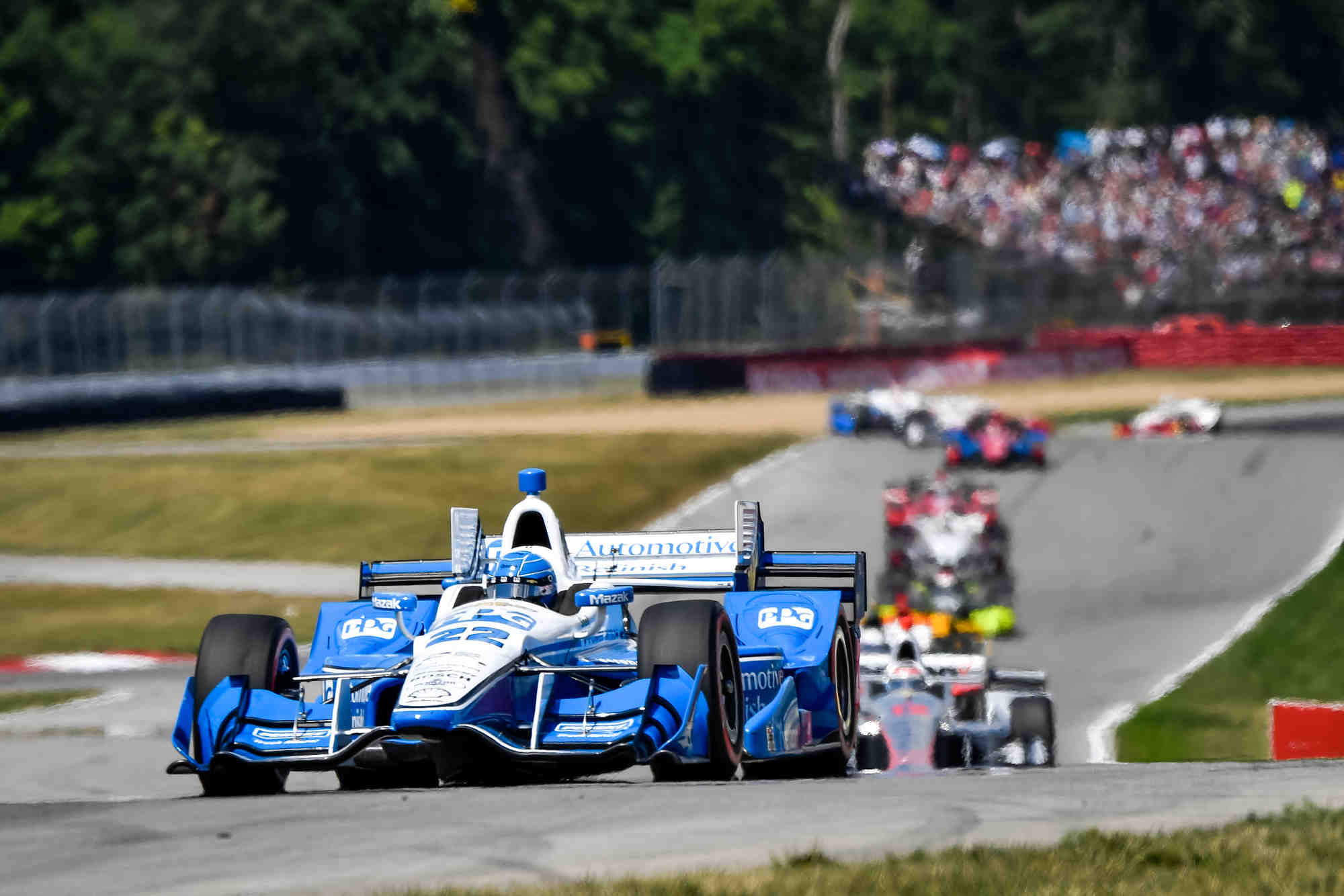 simon pagenaud wins at mid ohio auto racing daily. Black Bedroom Furniture Sets. Home Design Ideas