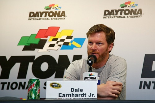 Dale Earnhardt Jr. (photo courtesy of Getty Images from NASCAR)