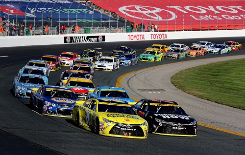 Photo courtesy of Getty Images for NASCAR.