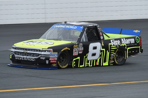 No. 8 of John Hunter Nemechek (photo courtesy of Getty Images for NASCAR)