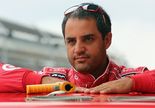 Juan Montoya (photo courtesy of Getty Images for NASCAR)