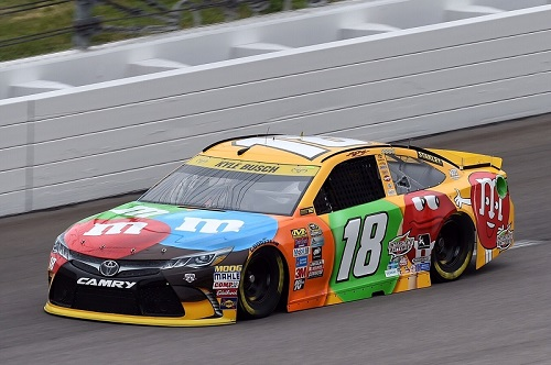 No. 18 Joe Gibbs Racing Chevrolet of Kyle Busch (photo courtesy of Getty Images for NASCAR)