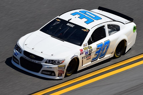 No. 30 TMG Chevrolet of Josh Wise (photo courtesy of Getty Images for NASCAR)