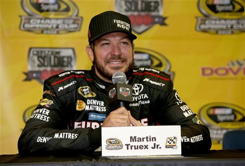 Martin Truex Kr. (photo courtesy of Getty Images for NASCAR)