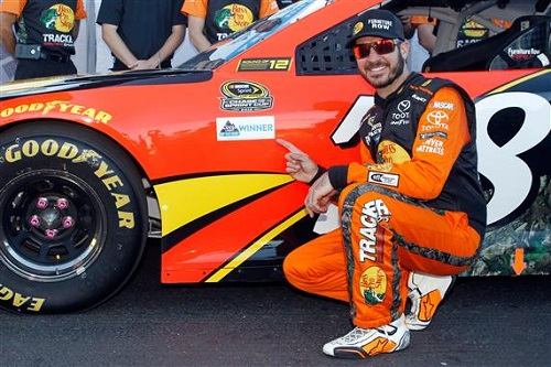 Martin Truex Jr. (photo courtesy of Getty Images for NASCAR)