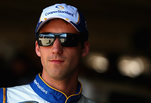 Austin Theriault (photo courtesy of Getty Images for NASCAR)