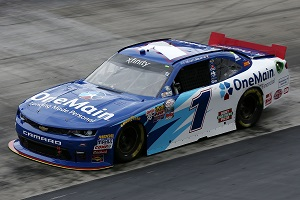 No. 1 JR Motorsports Chevrolet of Elliott Sadler (photo courtesy of Getty Images for NASCAR)