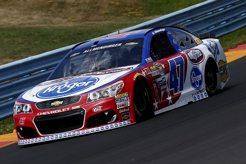No. 47 JTG-Daugherty Racing Chevrolet of A.J. Allmendinger (photo courtesy of Getty Images for NASCAR)