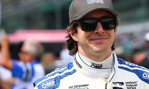 JR Hildebrand (photo courtesy of IndyCar)