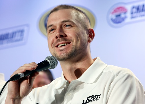 Michael Annett (photo courtesy of Getty Images for NASCAR)