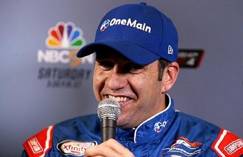 Elliott Sadler (photo courtesy of Getty Images for NASCAR)