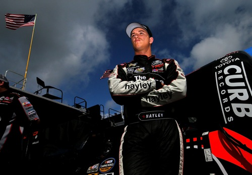 Cameron Hayley (photo courtesy of Getty Images for NASCAR)