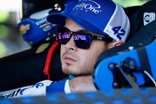 Kyle Larson (photo courtesy of Getty Images for NASCAR)