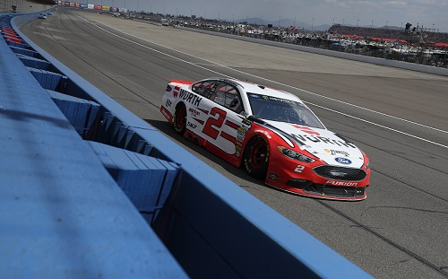 No. 2 Team Penske Ford of Brad Keselowski