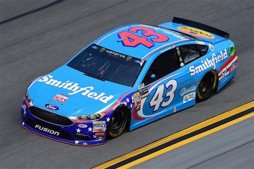 No. 43 Richard Petty Motorsports Ford of Aric Almirola (photo courtesy of Getty Images for NASCAR)