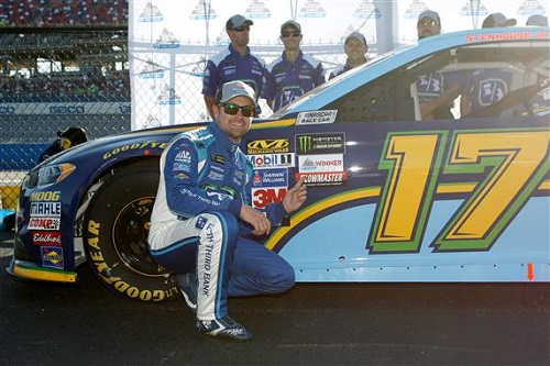 Ricky Stenhouse Jr. (photo courtesy of Getty Images for NASCAR)
