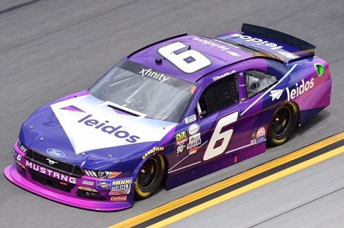 No. 6 Roush Fenway Racing Ford of Darrell Wallace Jr. (photo courtesy of Getty Images for NASCAR)
