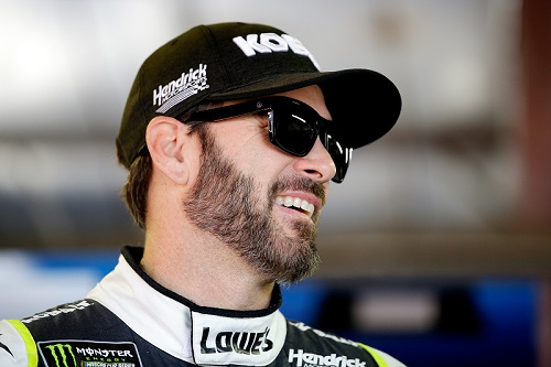 Jimmie Johnson (photo courtesy of Getty Images for NASCAR)