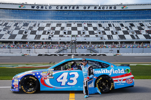 Aric Almirola (photo courtesy of Getty Images for NASCAR)
