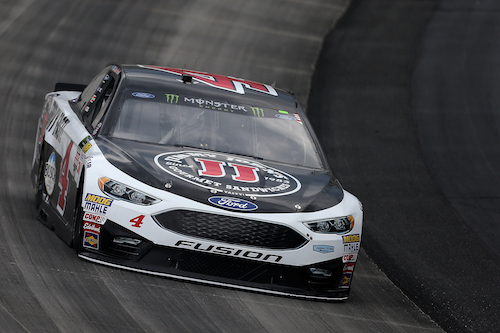 The No. 4 Stewart-Haas Racing Ford of Kevin Harvick (photo courtesy of Getty Images for NASCAR)