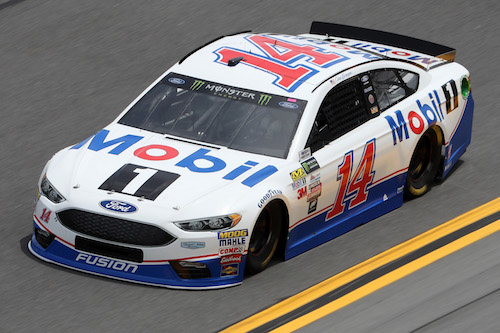 No. 14 Stewart-Haas Racing Ford of Clint Bowyer (photo courtesy of Getty Images for NASCAR)
