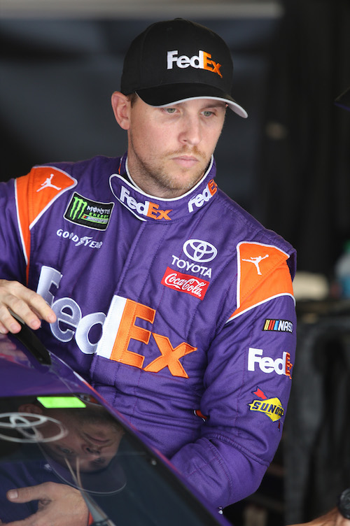 Denny Hamlin (photo courtesy of Getty Images for NASCAR)
