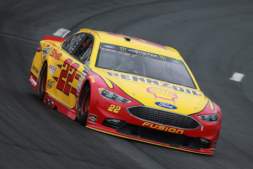 No. 22 Team Penske Ford of Joey Logano (photo courtesy of Getty Images for NASCAR)